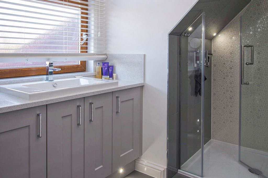 beautiful bathrooms south wales from excel home design. Black Bedroom Furniture Sets. Home Design Ideas