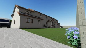 3D Impression of Home Improvement. Excel Home Design Rhondda