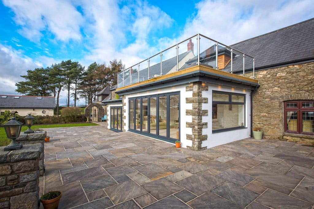 High End House Extensions South Wales