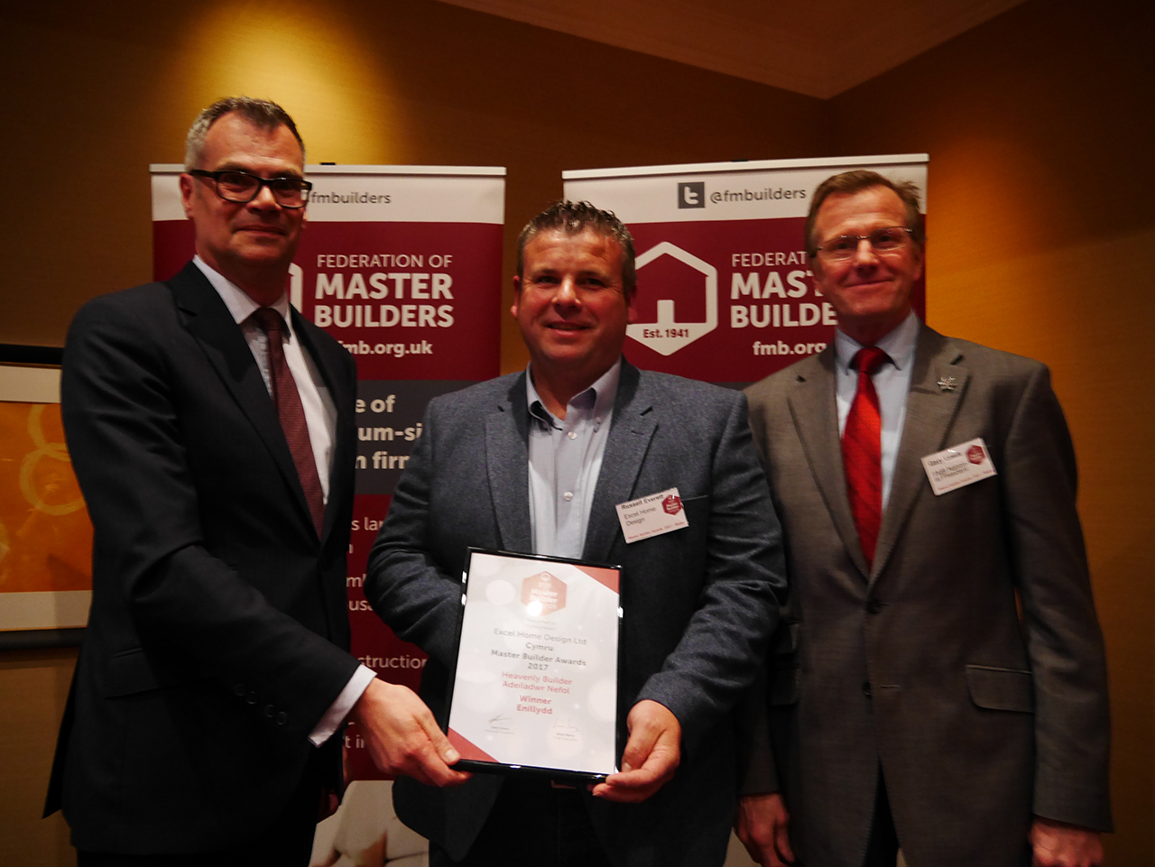excel home design receive FMB award