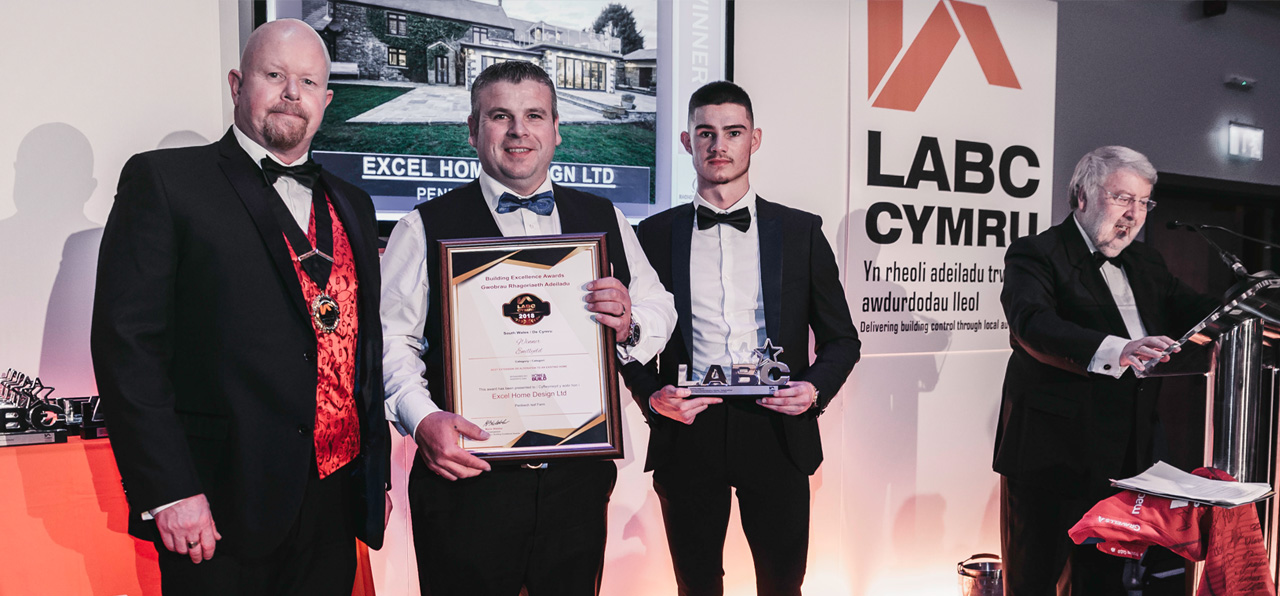 Excel Home Design receive LABC building award